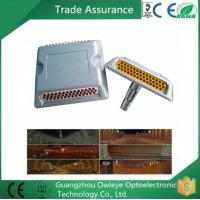 Wholesale Flexible side marker/recessed driveway aluminium cat eye glass bead reflector from china suppliers