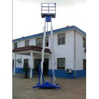Wholesale Manual battery mobile Aluminum alloy hydraulic lifting platform for direct sailing from china suppliers