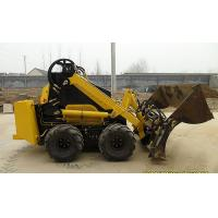 Wholesale Farm Mini Skid Steer Loader Shoveling Sand With Four In One Bucket from china suppliers