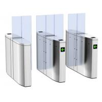 Wholesale Automatic RFID Pedestrian Barrier Gate Arc Shaped Translational Turnstile from china suppliers