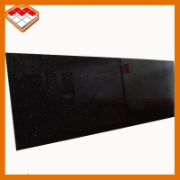 Wholesale Black Galaxy Gold  60*60*Cm Granite Tiles Slabs For Wall Floor from china suppliers