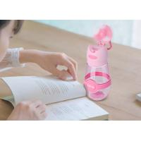 Wholesale Plastic shaker outdoor sports water cup with mini fan 400ml from china suppliers