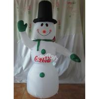 Inflatable abominable snowman christmas decoration 102172951 for Abominable snowman holiday decoration