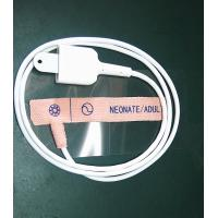 China CE Approval Disposable Pulse Oximeter Finger Probe 3 Type Materials 6 Pin Connector on sale