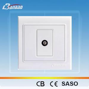 LK4023 PC flush type 1way TV socket