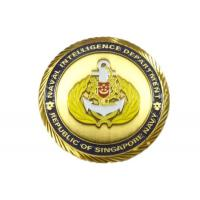 Wholesale 3D Metal Custom Challenge Coins , Polishing / Plating Custom Made Coins from china suppliers