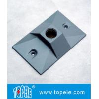 Wholesale Three Holes Electrical Weatherproof Rectangular Covers Aluminum Gaskets & Screws from china suppliers