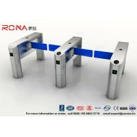 Wholesale TCP / IP Security Electro Lock Door Swing Pedestrian Barrier Gate Turnstyle Fastlane Glass from china suppliers