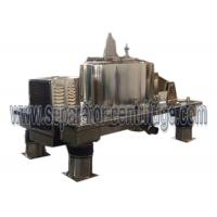 Buy cheap Hermetic Closure Type Plate Top Discharge Basket Centrifuge For Hemp Oil from wholesalers