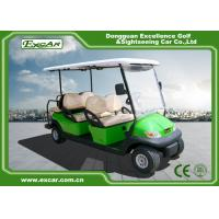 Wholesale Light Green Golf Buggy With Seat 6 Endurance 70 - 100km 12:1 Axle from china suppliers