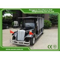 Wholesale Blue Old Style Electric Classic Car 6 Seats 48 Voltage Battery Powered from china suppliers