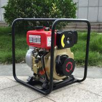 China WP40 4-Stroke Portable Manual 4 Inch Diesel water pump for agricultural irrigation on sale