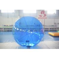 Blue Color Inflatable Water Walking Ball With 0.8m PVC Material