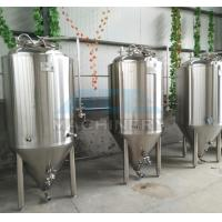 Wholesale 1000L Red Copper Shell Inner Stainless Steel Three Vessels Brewhouse with PU Instualtion from china suppliers
