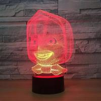 Buy cheap Indoor Acrylic 3D LED Night  Light for Gift ,Decoration LED Light from wholesalers