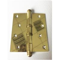 Wholesale Round Ball Tip Heavy Duty Door Hinges Ball Bearing Golden Polished 3.0mm from china suppliers