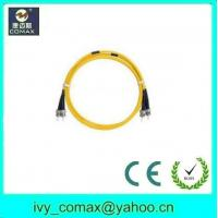 Quality St to st singlemode fiber optic patchcord cables for sale