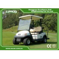 Wholesale White Color 48V Battery Operated Golf Cart Small Size Two Seats from china suppliers