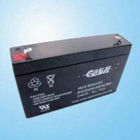 China Maintenance-Free Rechargeable Sealed Lead-acid Battery; 6V 7.0Ah with UL Certification on sale