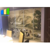 Wholesale Banquet Hall Screen Fireproof Sliding Movable Acoustic Partition Walls from china suppliers