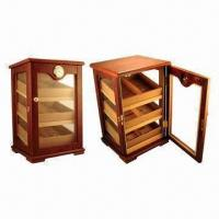Wholesale High Gloss Finish Cigar Display Humidor, Lined with Spanish Cedar Humidifier and Hygrometer from china suppliers