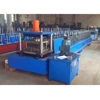 Wholesale Metal Rack Roll Forming Machine , Automatic Width Adjust Shelf Panel Roll Former from china suppliers