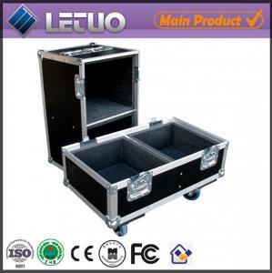 China Aluminum flight case road case transport crate case multimedia speaker flight case on sale