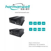 Quality 4ch GPS+3G HDD Mobile DVR for Vehicle tracking and fleet management for sale