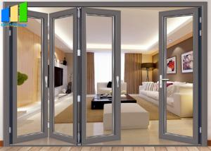 Wholesale Outdoor Glass Low E Coated Bifold Aluminum Folding Glass Doors from china suppliers