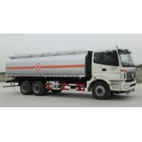 Foton Oil Tanker Truck With API Standard System , Fuel Petrol Diesel Oil Delivery Truck