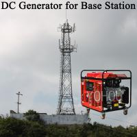 China Sotage battery use 48v gasoline dc generator charging systems for telecom on sale