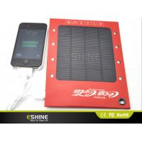 Wholesale Slim Ads Paper DC 5volt solar power charger light ESC CE for PDA from china suppliers