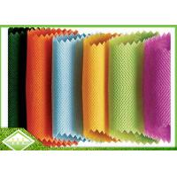 Wholesale Colored PP Spunbond Nonwoven Fabric , 100% Polypropylene Non Woven Cloth from china suppliers