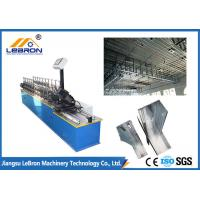 5.5 KW U C Stud Roll Forming Machine High Productivity With PLC Delta Converter
