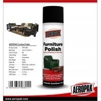 Buy cheap Aerosol Household care furniture cleaning polish not sticky silicone protection from wholesalers