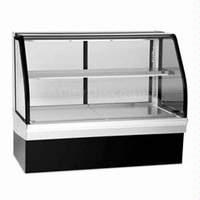 Quality 80L table top glass door cooler diplay refrigerator showcase for sale