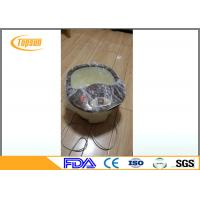 Wholesale Transparent / Blue PE Pedicure SPA Disposable Liners , Pedicure Bowl Liners from china suppliers