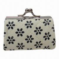 Wholesale Fashionable Coin Purses with Metal Clasp, Various Colors are Available from china suppliers