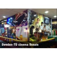 China Guangzhou Sunfun hot sale 7D cinema system 6 seats, free 5D movie offered on sale