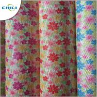 Wholesale Shoes Printed Faux Leather Fabric , Leatherette Upholstery Fabric Easy Cleaning from china suppliers