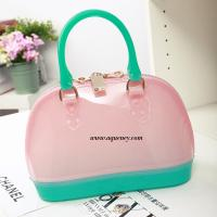 Wholesale Buy small clear transparant pvc zipper shell bag for ladies from china suppliers