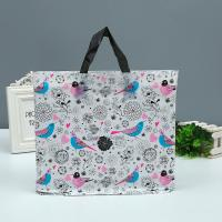 Wholesale Shopping Mall Custom Printed Plastic Bags Tote Bag With Handle 1-8 Colors Printed from china suppliers