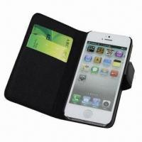 Wholesale Leather Case for iPhone 5, with Card Holder Pockets from china suppliers