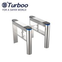 Buy cheap Pass Width 600-800mm Swing Barrier Gate Pedestrian Access Control 100-240V 40w from wholesalers