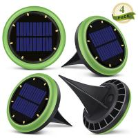 Wholesale 8 Led Solar Ground Lights Garden Solar Disk Ground Light For Night 2 Years Warranty from china suppliers