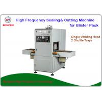 Wholesale Semi Automatic Sealing Machine , HF Blister Sealing Machine With Shuttle Tray from china suppliers