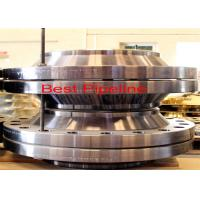 Wholesale Alloy Steel Reducing Weld Neck Flange , Carbon Steel Forged Flanges  from china suppliers