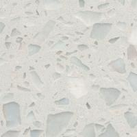 Wholesale Bright Black Terrazzo Tile , Terrazzo Vinyl Floor Tiles Vibrant Marvelous Texture from china suppliers