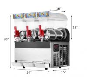 Buy cheap 15L Commercial Slush Puppy Machine Margarita Slush Machines For Restaurant from wholesalers
