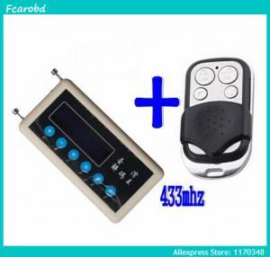 China Fcarobd car remote control copy 433mhz car remote code scanner + 433mhz A002 car door remote control copy on sale